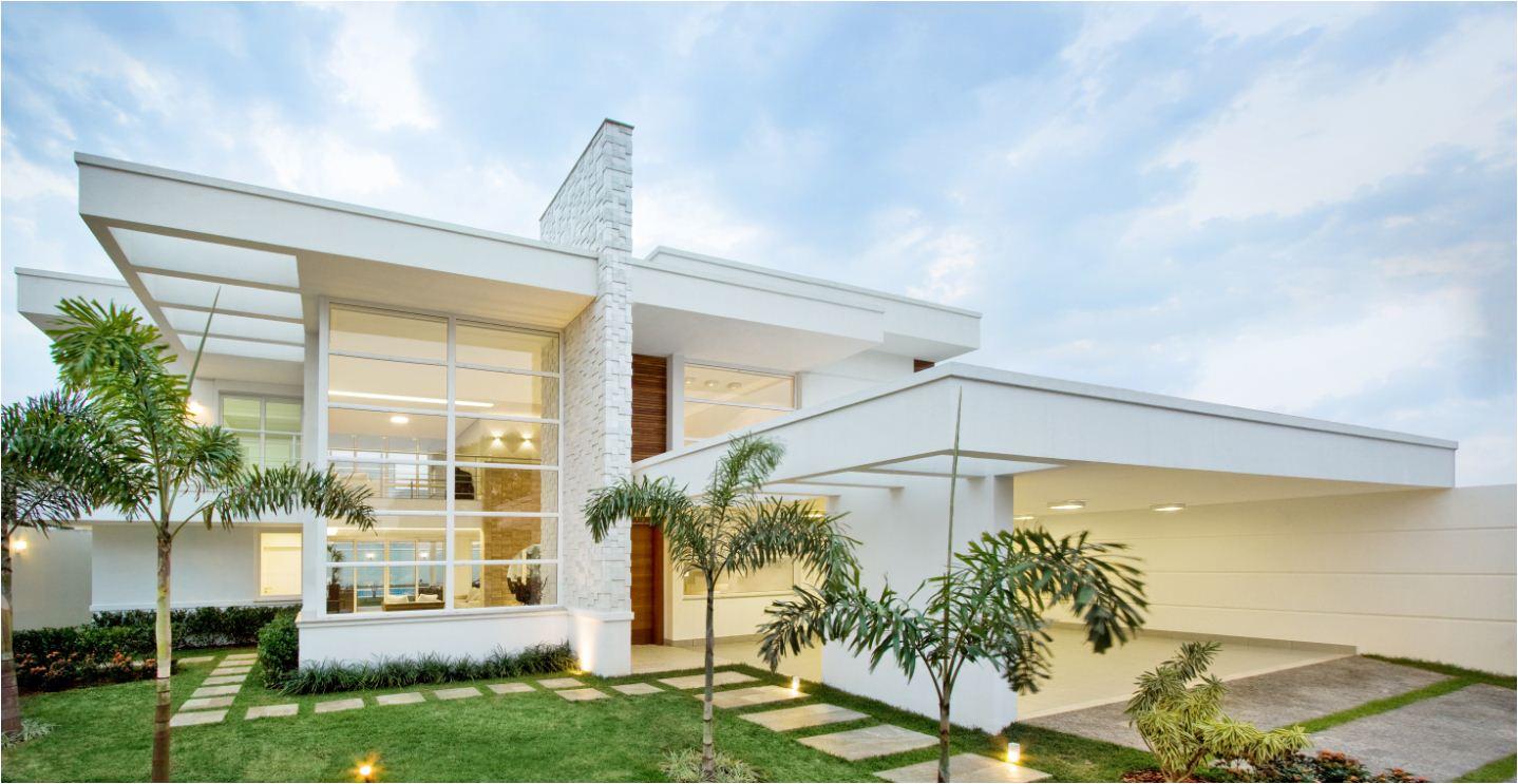 Fotos de fachadas de casas de luxo decorando casas for Fachadas casas modernas