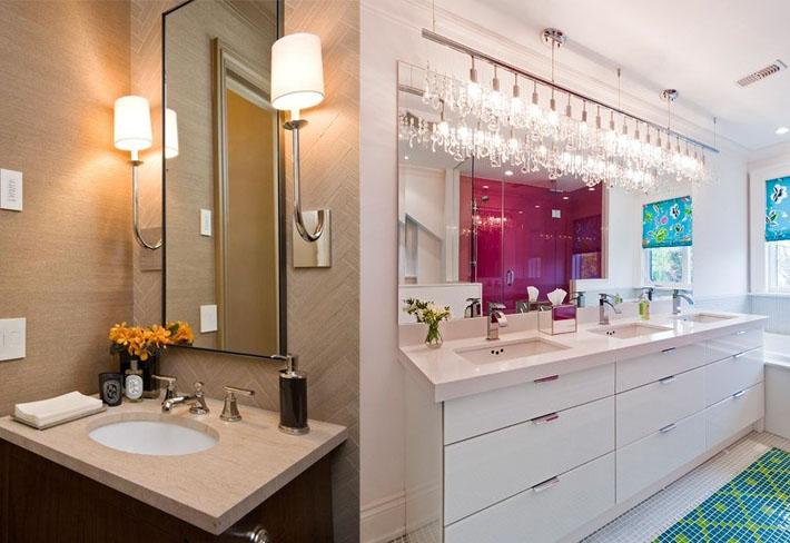 Luminaria box banheiro : Ilumina??o banheiro arandela decorando casas