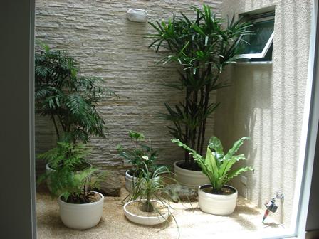 Jardim vasos
