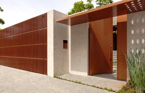 Modelos de muros para casa decorando casas for Modelos de fachadas modernas