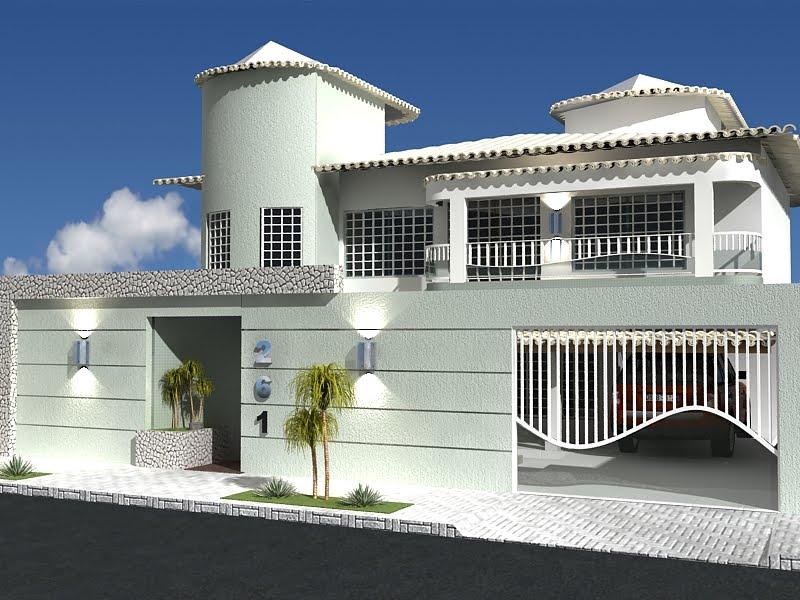 Modelos de muros para casa decorando casas for Modelos de fachadas para casas