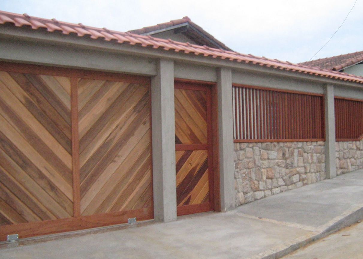 Modelos de muros para casa decorando casas for Modelos de fachadas para frentes de casas