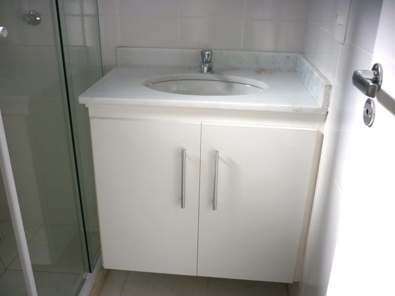 Modelos de pias para banheiro com armário  Decorando Casas -> Altura Do Armario De Banheiro