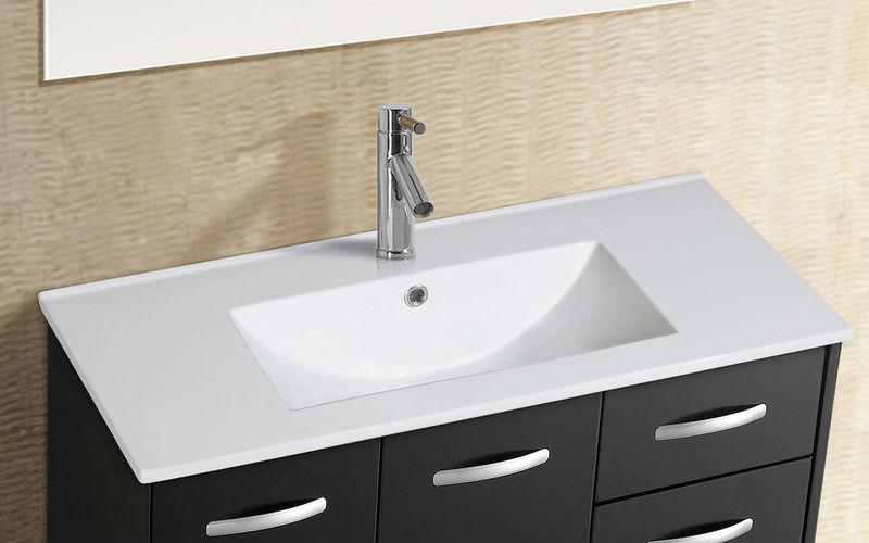 Modelos de pias para banheiro com armário  Decorando Casas -> Pia Para Banheiro De Ceramica
