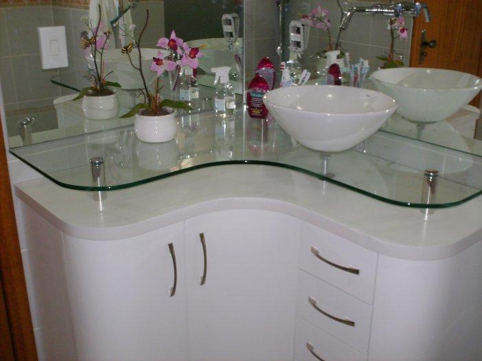 Modelos de pias para banheiro com armário  Decorando Casas -> Armario Com Cuba Para Banheiro Pequeno