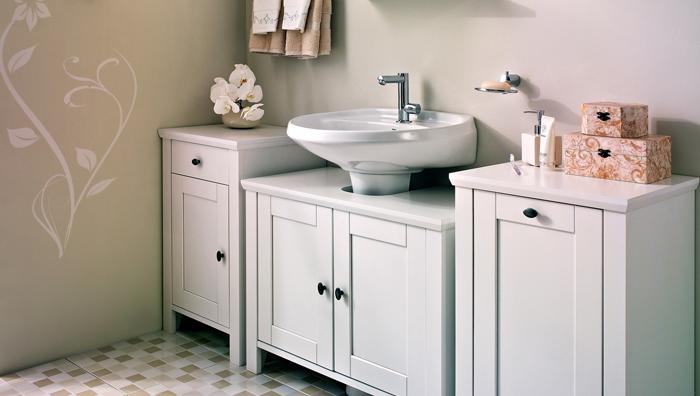 Modelos de pias para banheiro com armário  Decorando Casas -> Armario De Banheiro Sc