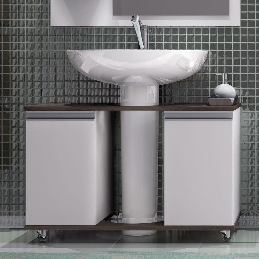 Adesivo De Parede Sjc ~ Modelos de pias para banheiro com armário Decorando Casas