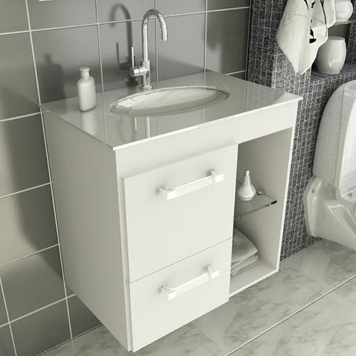 Modelos de pias para banheiro com armário  Decorando Casas -> Pia Para Banheiro Moderno