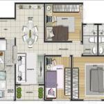plantas-apartamentos-3-quartos
