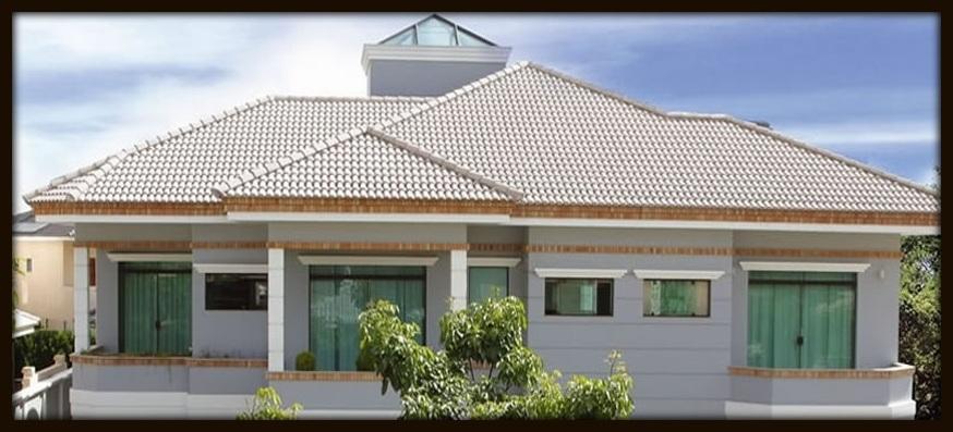 Projetos de telhados fotos 75