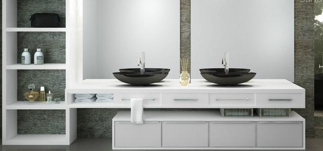 Banheiro pequeno pede um projeto de móveis planejados  Decorando Casas -> Projeto Banheiro Planejado