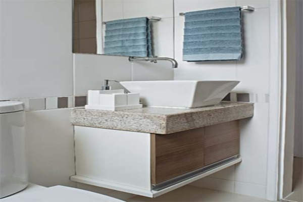 Banheiro pequeno pede um projeto de móveis planejados  Decorando Casas -> Banheiro Pequeno Moveis