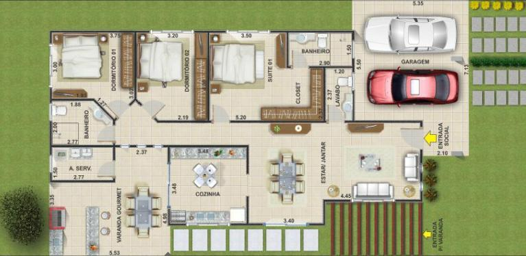 Projetos-de-casas-com-4-quartos