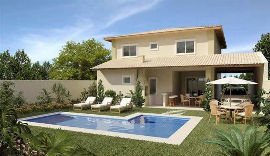 Projetos de casas com 4 quartos decorando casas for Casa moderna 4 parte 3