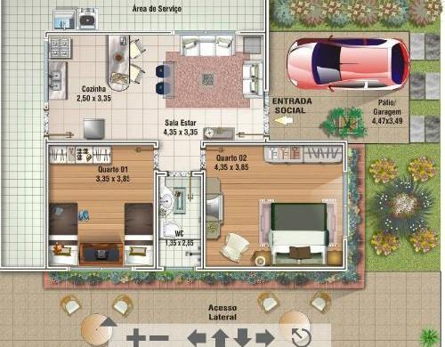 plantas jardim baratas:Projetos de casas modernas e baratas