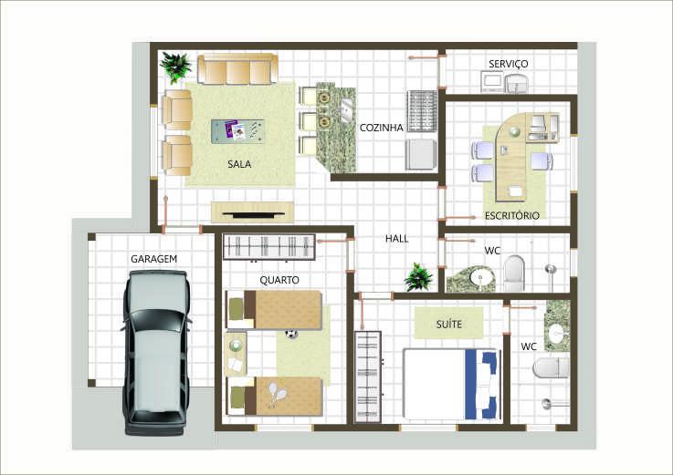 Projetos de casas modernas e baratas casa etc for Casa moderna baratas