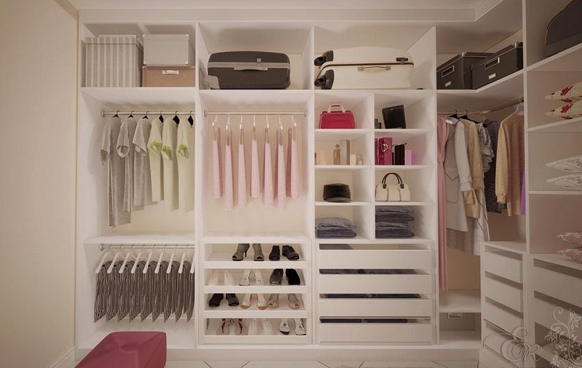 Excepcional Projetos de closet em alvenaria   Decorando Casas KA24