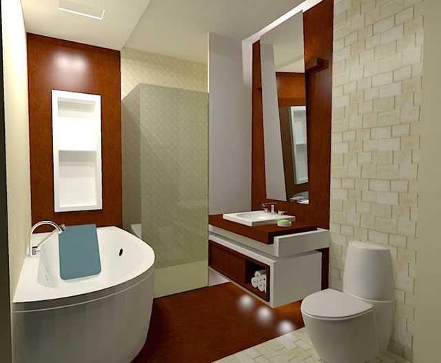 Revestimentos para banheiros pequenos  Decorando Casas # Banheiro Pequeno Revestimento