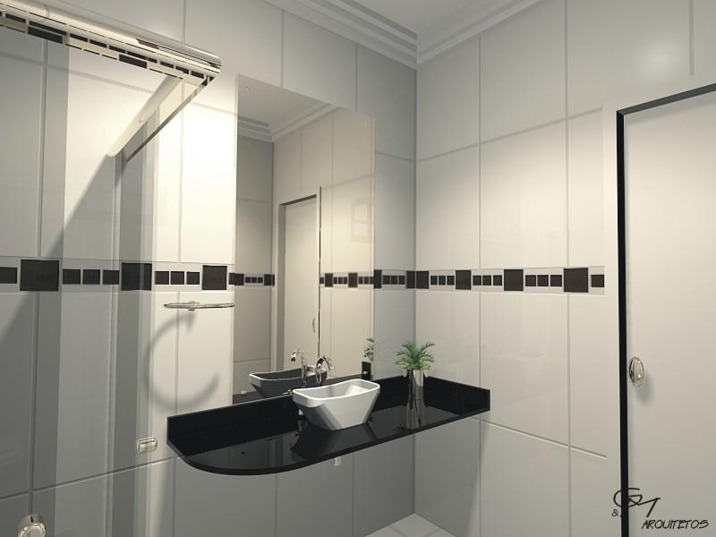 Revestimento banheiros modernos Revestimentos banheiros pequenos # Banheiro Moderno Revestimento