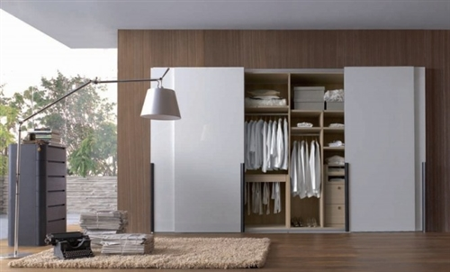Modelos de armários para quarto com porta de correr