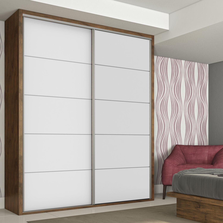 Modelos de armários para quarto com porta de correr Decorando Casas #6B453B 1500x1500