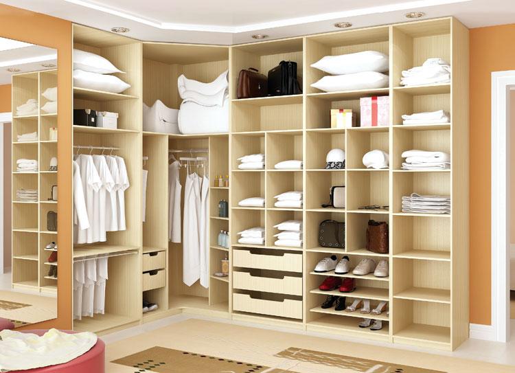 Closets modernos e planejados para quarto decorando casas for Closets modernos para parejas