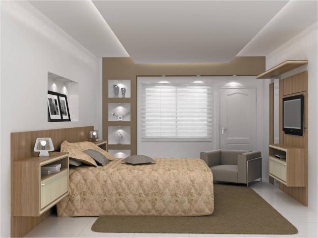 Closets modernos e planejados para quarto Decorando Casas ~ Quarto Planejado Com Closet
