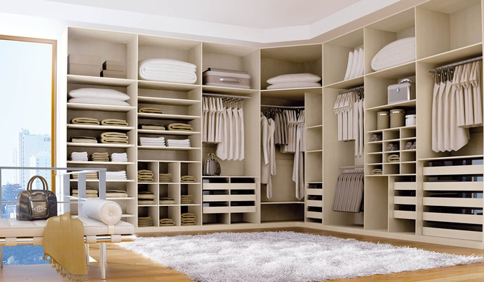 Closets modernos e planejados para quarto decorando casas for Walking closet modelo