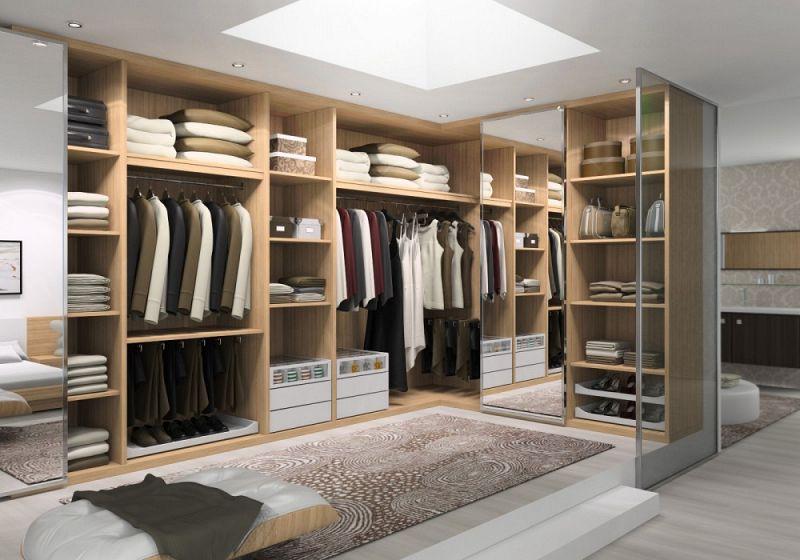 Closets modernos e planejados para quarto decorando casas for Medidas closets modernos