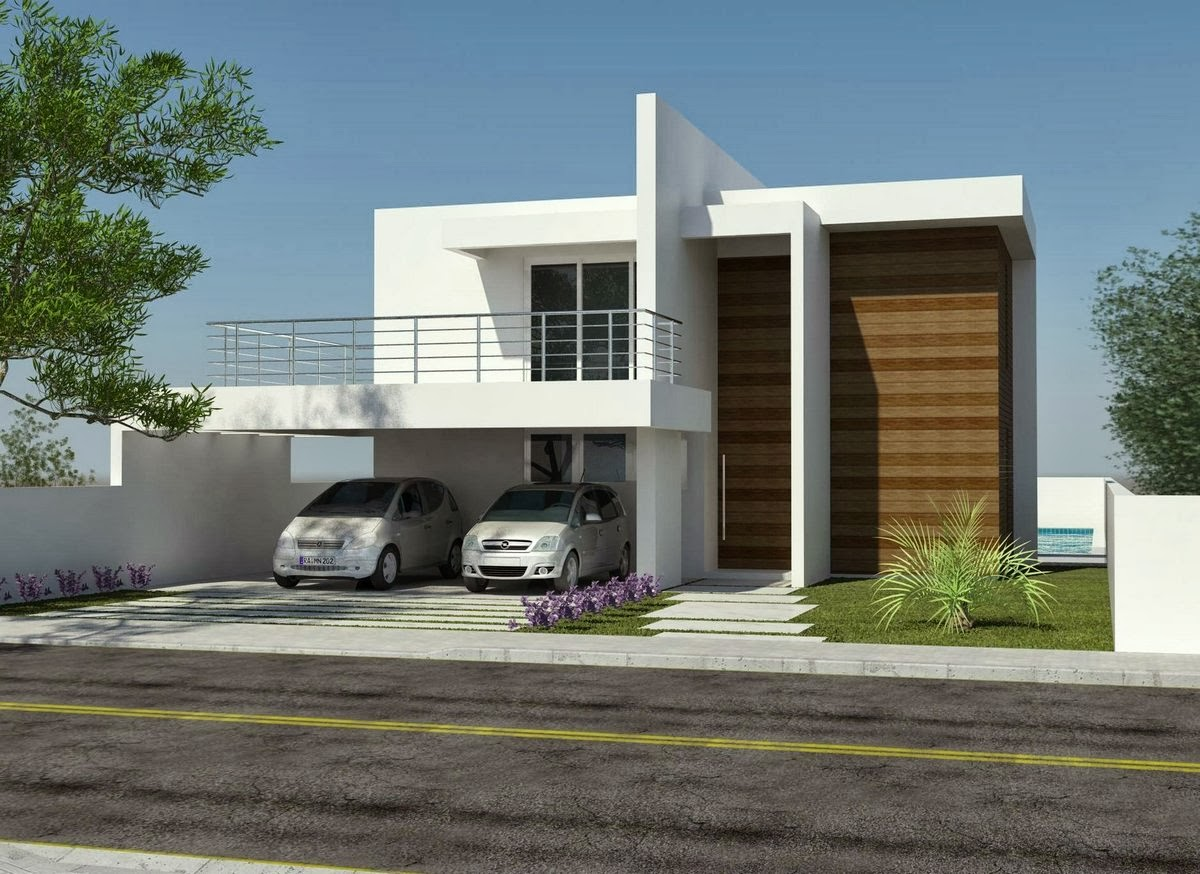 Dicas de decora o para fachadas de casas decorando casas for Decorando casa