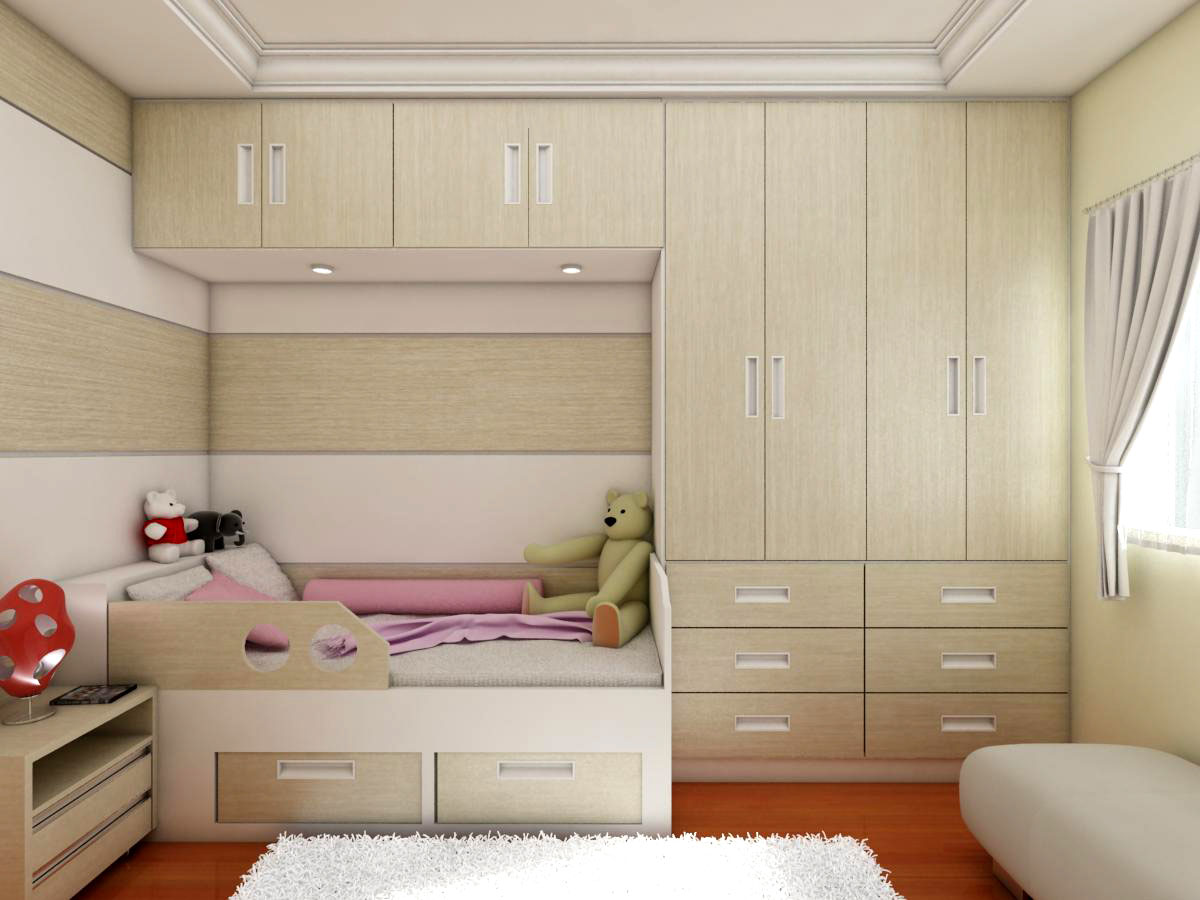 Móveis planejados para quartos de meninas Decorando Casas #7C371B 1200x900 Banheiro Container Salvador