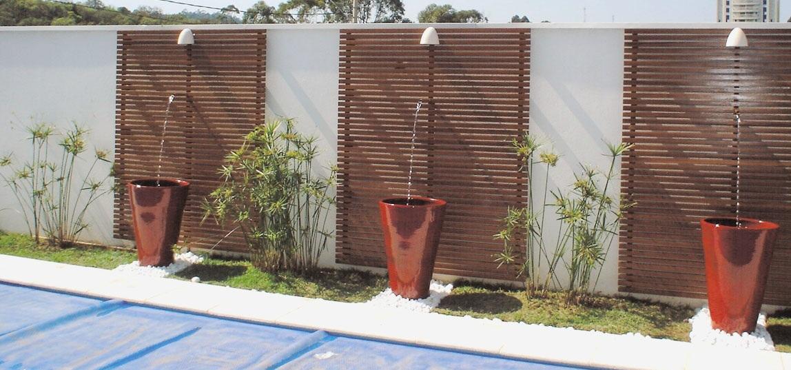 decoracao jardim residencial : decoracao jardim residencial:Modelos de muros residenciais decorados