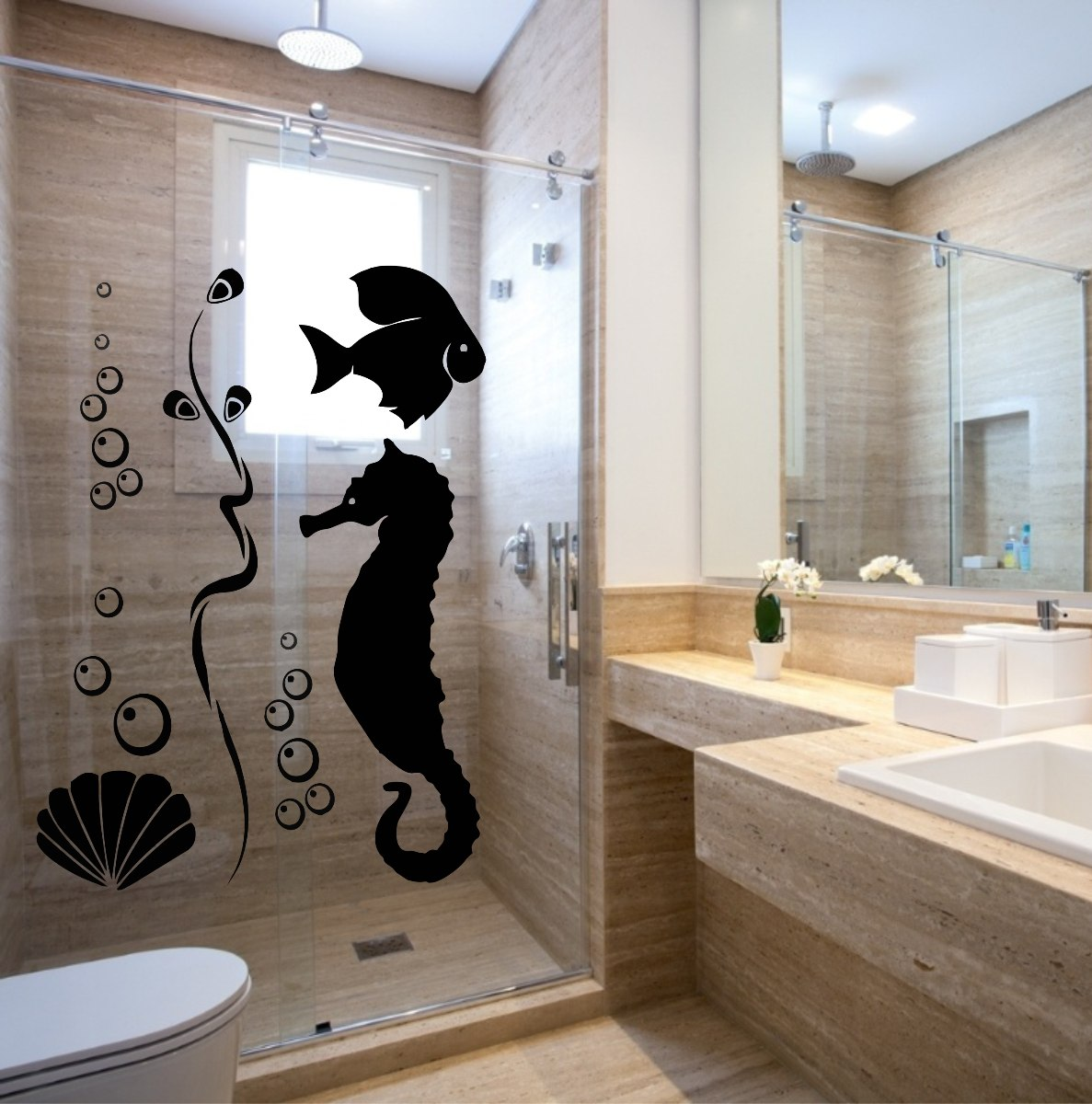 Banheiro Com Papel De Parede6 150x150 Jpg Pictures to pin on Pinterest #826849 1187 1200