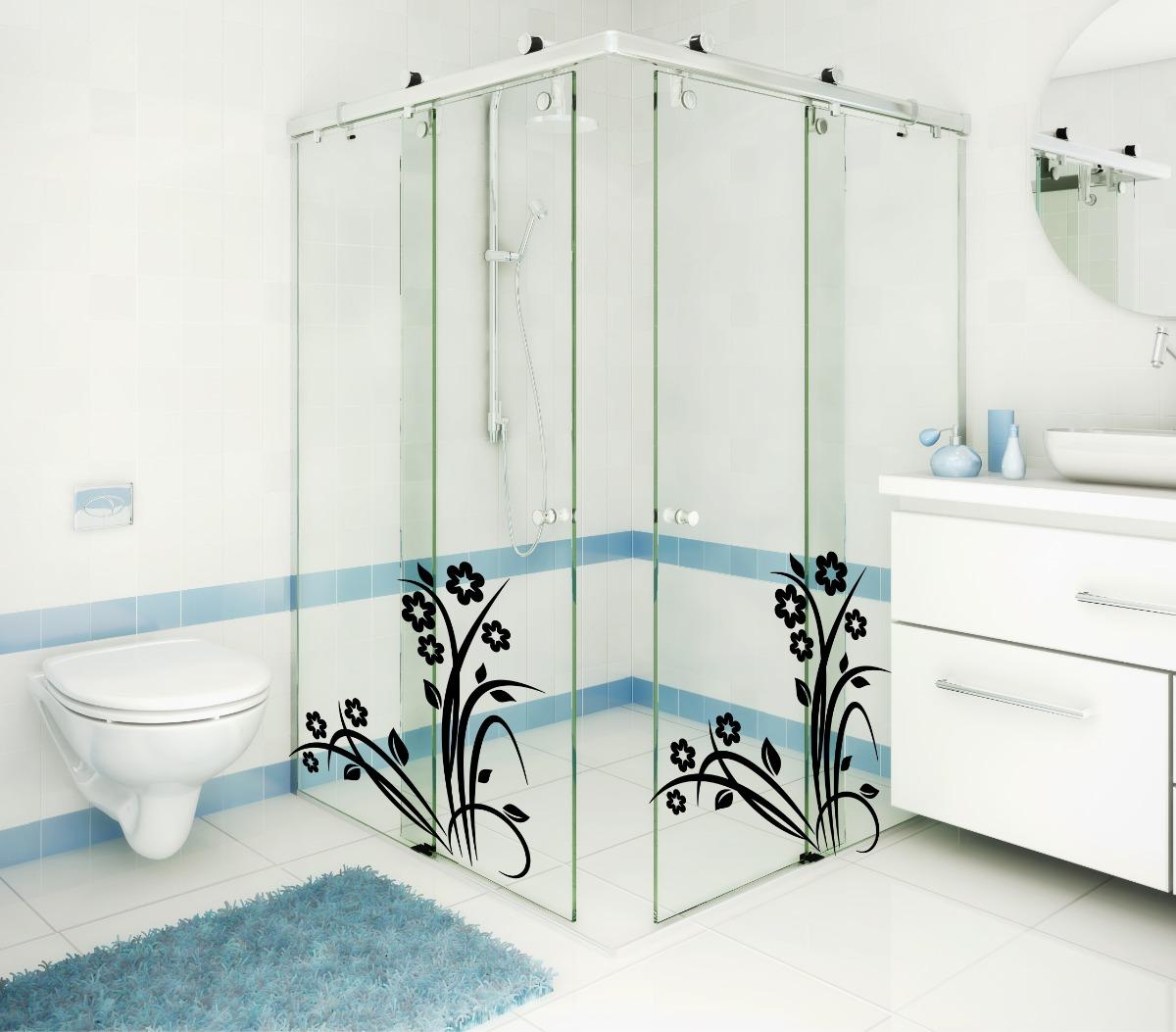 Papel de parede para banheiros Decorando Casas #4C727F 1200 1053