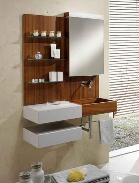 Dicas de pia para banheiros pequenos  Decorando Casas # Banheiro Pequeno Pia