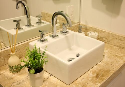 Dicas de pia para banheiros pequenos  Decorando Casas -> Pia De Banheiro Aqualux