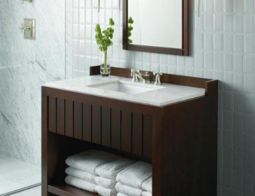 Dicas de pia para banheiros pequenos  Decorando Casas -> Pia De Cimento Banheiro