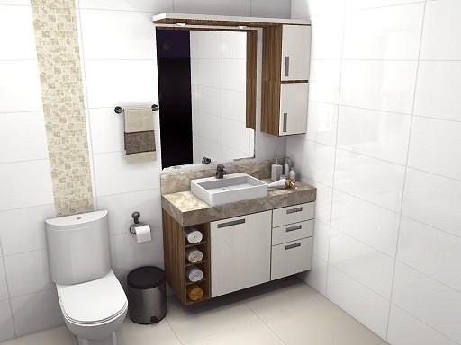 Dicas de pia para banheiros pequenos  Decorando Casas -> Moveis Planejados Para Pia De Banheiro