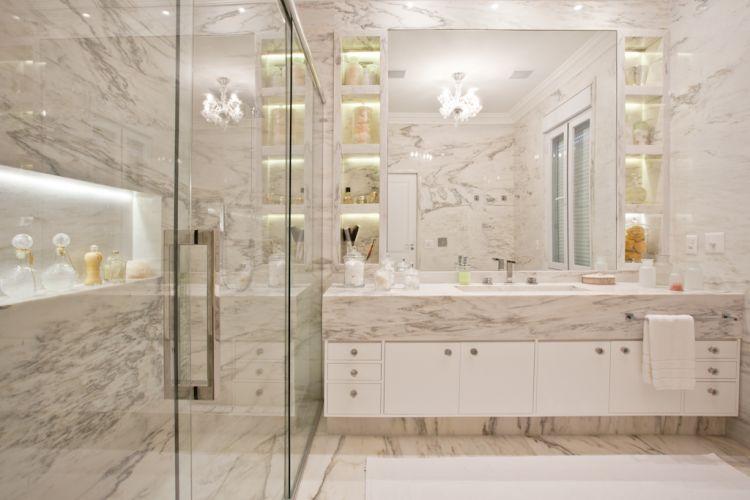 Revestimentos para banheiro 2015  Decorando Casas -> Revestimento De Banheiro Com Banheira