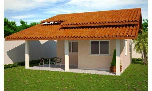 Fotos de telhados casas simples e pequenas decorando casas for Modelo de casa pequena para construir
