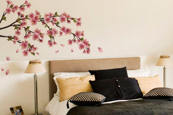 Adesivos de parede para quartos de casal Decorando Casas ~ Ver Adesivos De Parede Para Quarto
