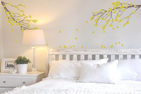 Adesivos de parede para quartos de casal  Decorando Casas