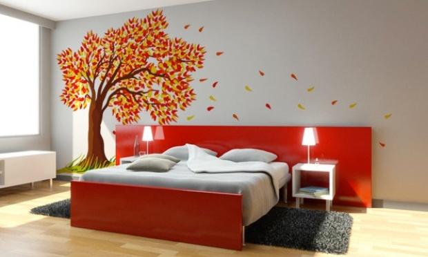 Adesivo De Parede Narguile ~ Adesivos de parede para quartos de casal Decorando Casas