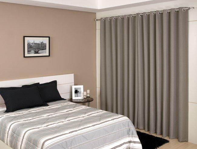 Cortinas para quartos com blecaute  Decorando Casas