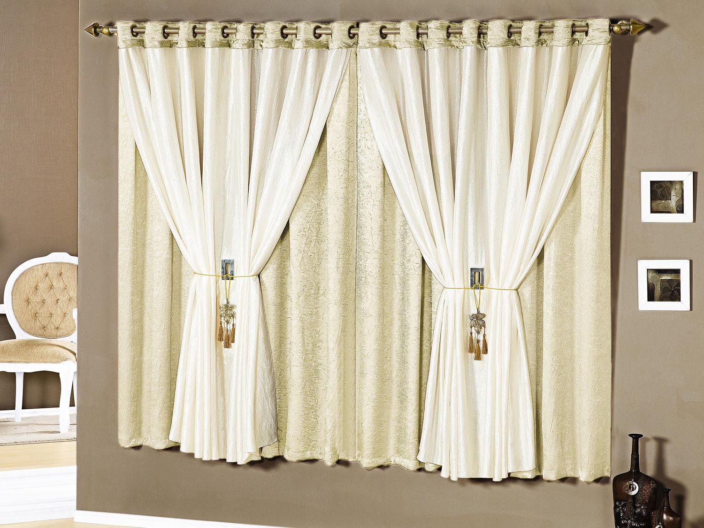 Cortinas para quartos com blecaute decorando casas for Modelos de cortinas