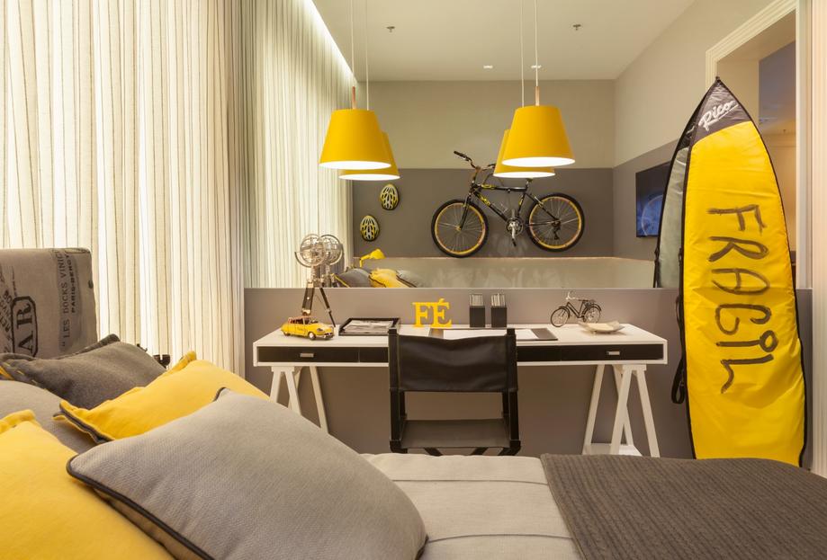 Dicas decoração quarto solteiro Decorando Casas ~ Quarto Solteiro Moderno
