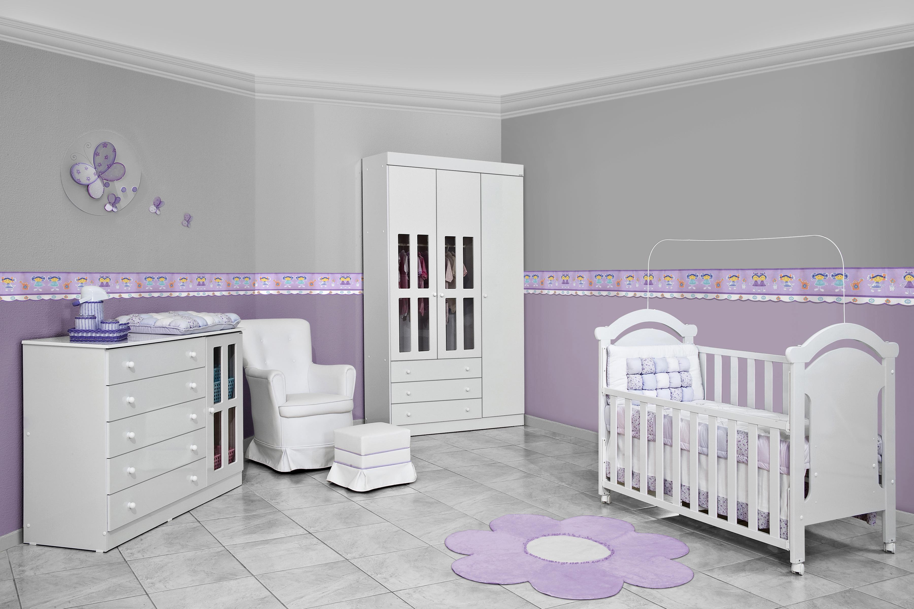 Móveis planejados para quarto de bebê | Decorando Casas