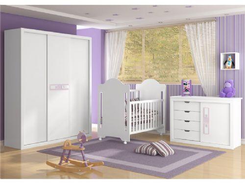 Móveis planejados para quarto de bebê Decorando Casas