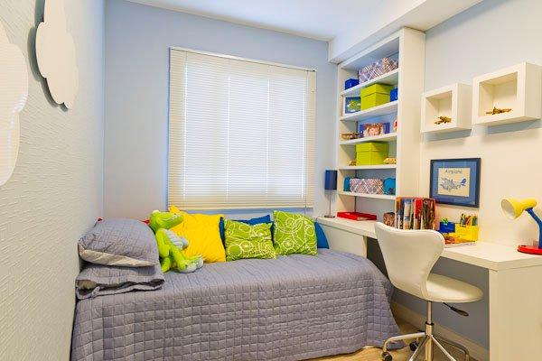 Móveis planejados para quartos pequenos Decorando Casas ~ Quarto Planejado Infantil Casal
