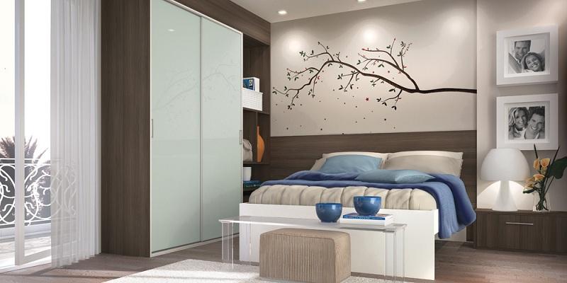 Móveis planejados para quartos pequenos Decorando Casas ~ Quarto Pequeno Sob Medida Casal